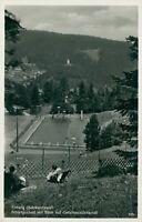 Ansichtskarte Triberg Schwarzwald Schwimmbad Gefallenendenkmal  (Nr.9223)