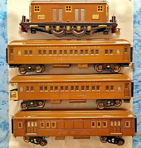 American Flyer Standard Gauge President's Special Set # 1465 From Circa 1926