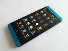 HTC ONE M7 32GB BLAU TOP+OVP+VIELE EXTRAS+12 MONATE GEWÄHRLEISTUNG