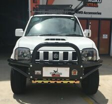 SUZUKI JIMNY XROX BULL BAR,  WITH BONNET SCOOP 10/2012 - ON ADR & AIRBAG SIERRA