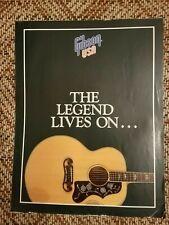 Vintage Gibson Acoustic Guitar Brochure/Catalog Hummingbird Dove J200 Case Candy
