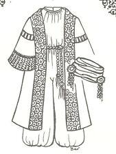 African boy child Sewing Pattern doll Coat jumpsuit hat turbinU Pick Size