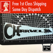 "CHARVEL Guitar Logo 6"" Inch Decal Vinyl Project Sticker Case Window Car"