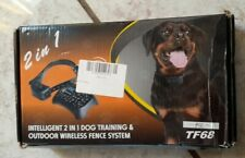 Outdoor Wireless Fence System for Training Dog to Stay In yard