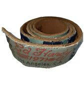 ED HARDY BELT Genuine Leather Size L One Of A Kind by Christian Audigier