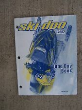 2002 Ski-Doo Snowmobile One Day Book Dealer Manual More Ski-Doo In Our Store S