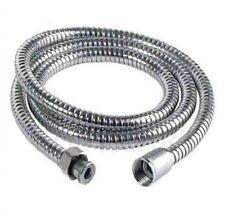 New Flexible Stainless Steel Chrome shower hose 2.m Standard
