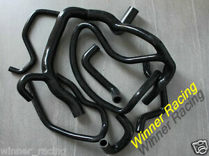 Silicone Hose Renault Clio MK1 16S/Williams 1.8L/2.0L 16V F7 Engine -1998 BLACK