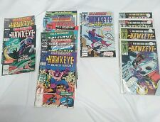 HawkEye comic books lot of 19
