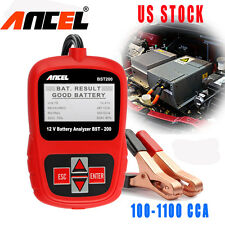 12V Auto Car Battery Load Testers Analyzer Tools AGM 100-1100CCA Automotive Tool