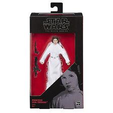 "Star Wars Hasbro W5 Black Series 6"" Rogue One #30 Princess Leia Organa New"