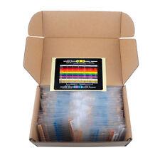 RCmall 1460Pcs 1/4W Metal Film Resistor Kit  73 Value 1% Precision1ohm-1Mohm