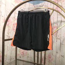 Brooks Men's Running Shorts Size Small  Gray/ Orange
