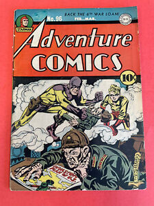 ADVENTURE COMICS # 96 (1945 DC) SIMON / KIRBY Cover - GOLDENAGE COMIC BOOK