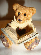 Boyds Bearstone Collection #2007 Wilson With Love Sonnets Le 1993