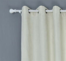 HOT Suede Living Room Bedroom Balcony Shade Solid Cloth Blackout Curtain Drapes
