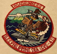 USS Philippine Sea CVS-47 Roadrunners Large Jacket Size Navy Patch
