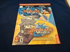 Beyblade Vforce Ultimate Blader Jam/ Tournament GBA Strategy Guide Player's Book