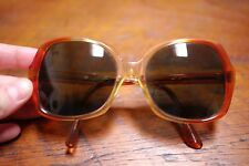 Vintage 70s 80s Saybrook American Optical AO Hispter Butterfly Amber Sunglasses