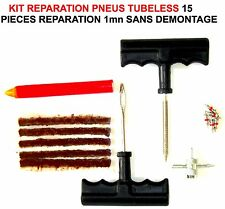 KIT REPARE PNEUS TUBELESS EN 1MN! 15 PIECES! LAND CRUISER PAJERO L200 PATROL HDJ