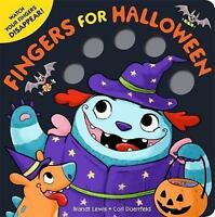 Fingers for Halloween by Lewis, Brandt, NEW Book, FREE & Fast Delivery, (Board b