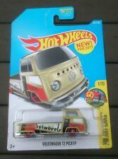 Hot wheels volkswagen t2 pickup bay window single cab pickup latest release