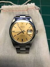Rolex Oysterdate Precision - Stainless Steel - Vintage Gold Face & Hands - Mint!