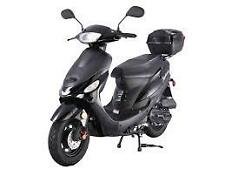 Brand New  49cc scooter moped  Free trunk Free Shipping!!!! 2017 models w/ paper