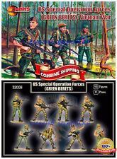 "Mars Figures 32008 ""US Special Operation Forces (Green Berets) Vietnam war"" 1/32"