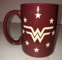 DC Comics Wonder Woman Coffee Mug Cup Super Hero LOGO NICE