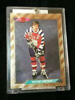 F18044 1992-93 Bowman #207 Wayne Gretzky FOIL