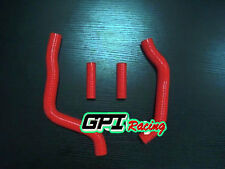 FOR KAWASAKI KX125 KX 125 2005 2006 2007 SILICONE RADIATOR HOSE ,RED