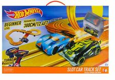 Hot Wheels Slot Car Racing Track Play Set With 2 Cars