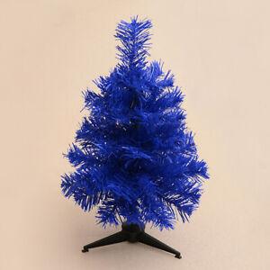 1ft 2ft 3ft Pink Purple Blue Gold Christmas Tree Desktop Mini Christmas Tree