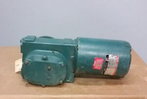 Reliance Electric FRFB56 1/3HP Right Angle Gear Motor