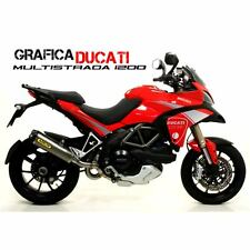 KIT ADESIVI STICKERS CARENA ADESIVO DUCATI MULTISTRADA ARGEN GRAFICA CARENE 1200