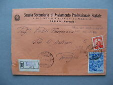 ITALY, R-cover local (Spello) 1950, holy year St Peter Church