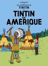 Affiche Offset Tintin Tintin en Amérique