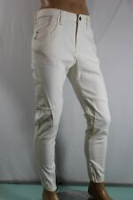 GUESS JEANS MEN'S LIGHT BEIGE SZ 33 INSEAM 30 KNIT DENIM JOGGERS 100%AUTHENTIC