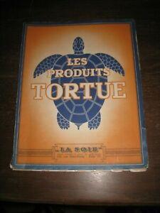 superbe catalogue  pèche ancien produit tortue