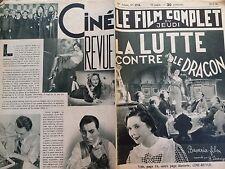 """LE FILM COMPLET 1936 N 1774 """" LA LUTTE CONTRE LE DRAGON """",  avec ADELE SANDROCK"""