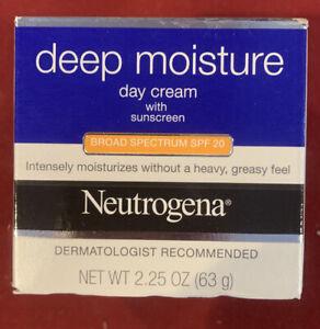 Neutrogena Deep Moisture Day Cream SPF 20 2.25 oz