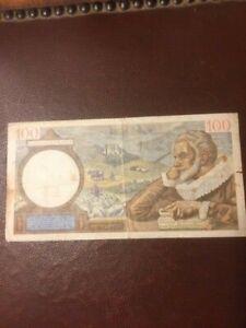 Billet 100 Francs SULLY 23 4 1942 FRANCE TBE