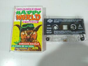 Happy World Todos Exitos Verano Camaleon 1998 - Cinta Tape Cassette