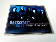 "BACKSTREET BOYS ""SHAPE OF MY HEART"" CD SINGLE 3 TRACKS COMO NUEVO"