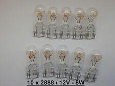 """10x OSRAM T10 2888 12V 8W GLASSOCKEL W2,1x9,5d STANDLICHT AUTO LAMPEN BIRNEN"""""""