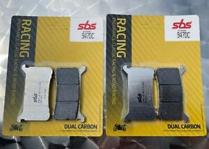 2x SBS 947 Dc Racing Brake Pads Honda CBR 1000 Ra, SC77A, SC82A, Year' 17-19