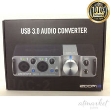 ZOOM USB 3.0 Audio Interface UAC-2 Musical instrument Silver from JAPAN