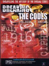 BREAKING the CODES - RISE of ENIGMA - WAR Secrets Codebreakers - DVD