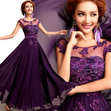2017 New Sexy Lace Evening Formal Party Cocktail Dress Bridesmaid Prom Gown